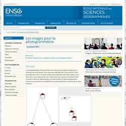 Les images pour la photogrammétrie : ENSG