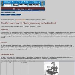 Photogrammetry