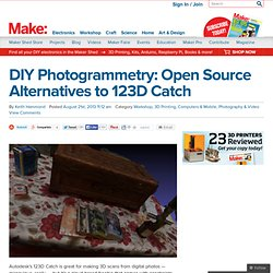 DIY Photogrammetry: Open Source Alternatives to 123D Catch