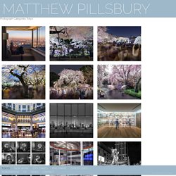 MATTHEW PILLSBURY » Photograph Categories » Tokyo