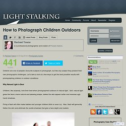 How to Photograph Children Outdoors