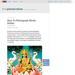 How To Photograph Hindu Deities : The Picture Show : NPR