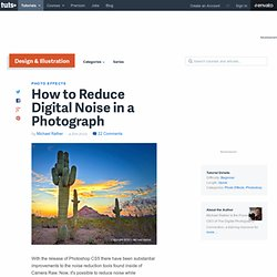 How to Reduce Digital Noise in a Photograph