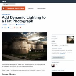 Add Dynamic Lighting to a Flat Photograph