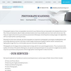 Best Photograph Scanning Company, Picture Scan Digital Service