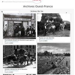 Série Scènes de vie - Archives Ouest-France Photographe - ArtPhotoLimited - Photo d'art