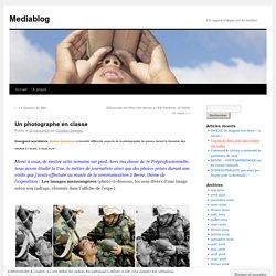Cadrage - Un soldat entre arme et eau