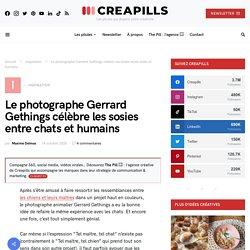 Le photographe Gerrard Gethings célèbre les sosies entre chats et humains