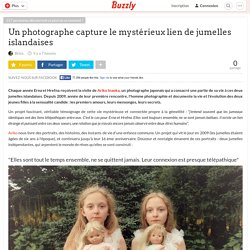 Un photographe capture le mystérieux lien de jumelles islandaises