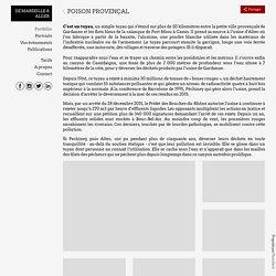 Photographe Marseille Algérie Poison provençal