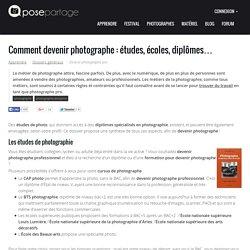 Devenir photographe : les métiers de la photographie, études, diplômes, écoles et salaires
