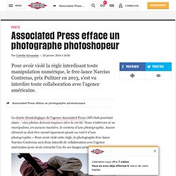 Associated Press efface un photographe photoshopeur