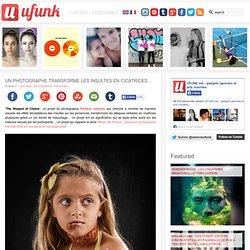 Un photographe transforme les insultes en cicatrices…