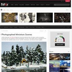 Photographed Miniature Scenes