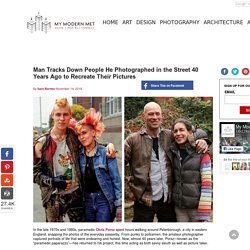 Man Tracks Down People He Photographed in the Street 40 Years Ago to Recreate Their Pictures