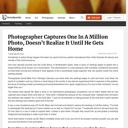 Photographer Captures One In A Million Photo, Doesn't Realize It Until He Gets Home