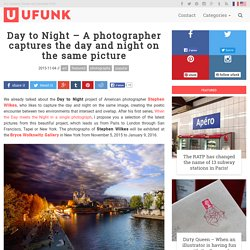 Day to Night – A photographer captures the day and night on the same picture