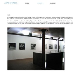 Anne Immelé, photographer & curator, Mulhouse - France