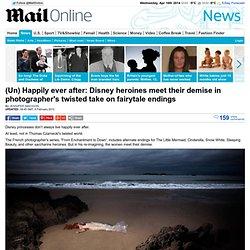Disney heroines meet their demise in photographer Thomas Czarneckis take on fairytale endings