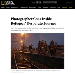 Photographer Goes Inside Refugees' Desperate Journey