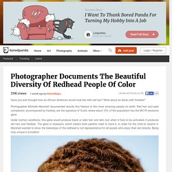 Photographer Documents The Beautiful Diversity Of Redhead People Of Color