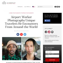 Photographer Documents the Unique People He Sees at the Airport