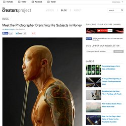 Meet the Photographer Drenching His Subjects in Honey