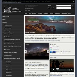 Astronomy Photographer of the Year : Exhibitions redirect : Visit