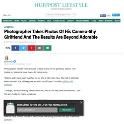Photographer Takes Photos Of His Camera-Shy Girlfriend And The Results Are Beyond Adorable