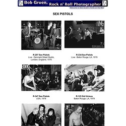 Bob Gruen, Rock and Roll Photographer - The Sex Pistols Photos