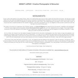 Benoit Lapray Creative Photographer & Retoucher