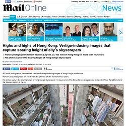 Photographer Romain Jacquet-Lagreze captures Hong Kong's skyscrapers
