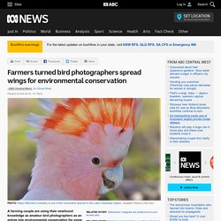 Farmers turned bird photographers spread wings for environmental conservation