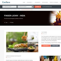 Best Food Photographers in India - Top 10 featured on Canvera
