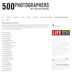 Photographers by Number