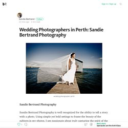 Wedding Photographers in Perth: Sandie Bertrand Photography – Medium