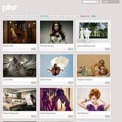 The Most Viewed photographers on plsr. | plsr. - photography showcase