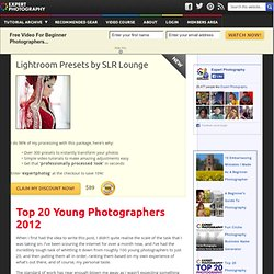 » Top 20 Young Photographers 2012