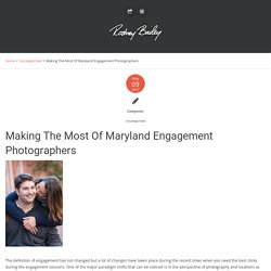 Making The Most Of Maryland Engagement Photographers - Wedding Photojournalism by Rodney Bailey