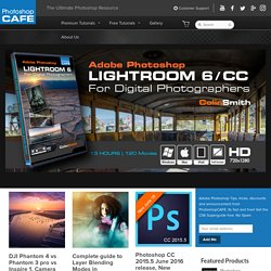 Photoshop Training, Tutorials, Tips, Reviews and more for Photographers and Designers. Lightroom 3 and Photoshop CS5, CS4, CS3 and earlier PhotoshopCAFE.com