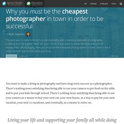Cheap photographers are ALWAYS successful - know why?