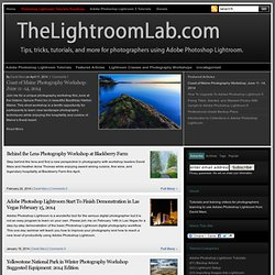 Tutorials, training videos, and workshops for photographers using Adobe Photoshop Lightroom | TheLightroomLab.com.
