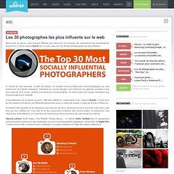 Les 30 photographes les plus influents sur le web