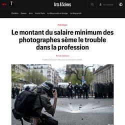 Le montant du salaire minimum des photographes sème le trouble dans la profession