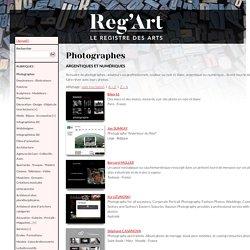 Reg'Art : annuaire de Photographes - Amateurs ou professionnels