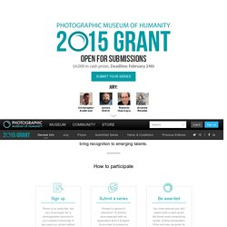 2015 Grant - Photographic Museum of Humanity