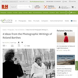 4 Ideas from the Photographic Writings of Roland Barthes
