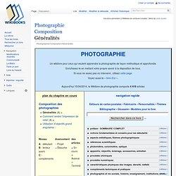 Photographie/Composition/Généralités