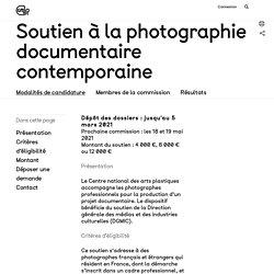[FR] Soutien à la photographie documentaire contemporaine