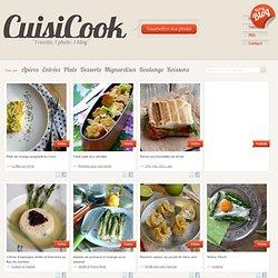 Cuisicook - partagez vos photos culinaires